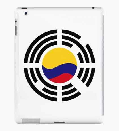Korean Colombian Multinational Patriot Flag Series iPad Case/Skin
