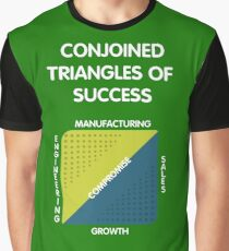 Conjoined Triangles of Success - Silicon Valley Graphic T-Shirt