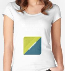 Conjoined Triangles of Success - Silicon Valley Women's Fitted Scoop T-Shirt