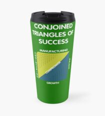 Conjoined Triangles of Success - Silicon Valley Travel Mug