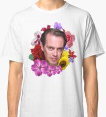Camiseta clásica Steve Buscemi - Floral
