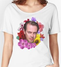Steve Buscemi - Floral Women's Relaxed Fit T-Shirt