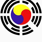 Korean Flag 2.0 by Carbon-Fibre Media