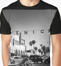 Cruising Pacific Avenue - Venice Beach California USA Graphic T-Shirt