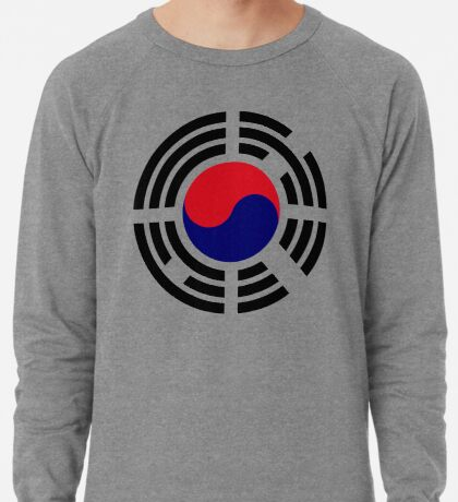 Korean Patriot Flag Series  Lightweight Sweatshirt