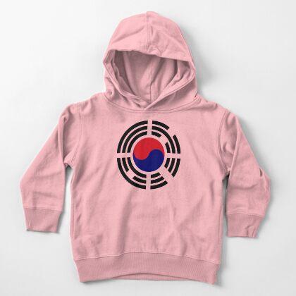 Korean Patriot Flag Series  Toddler Pullover Hoodie