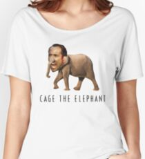 Nicolas Cage The Elephant Women's Relaxed Fit T-Shirt