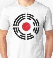 Korean Japanese Multinational Patriot Flag Series Unisex T-Shirt