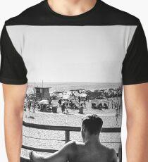 Sunshine and Entertainment - SantaMonica USA Graphic T-Shirt