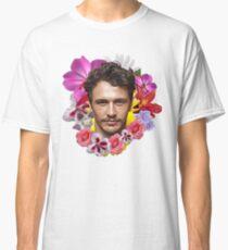 James Franco - Floral Classic T-Shirt