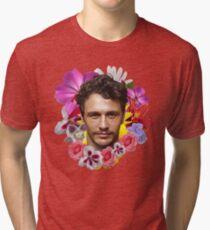 James Franco - Floral Tri-blend T-Shirt