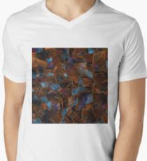 Fragments In Bronze Men's V-Neck T-Shirt