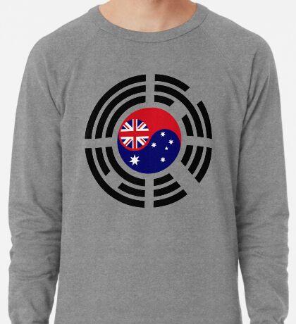 Korean Australian Multinational Patriot Flag Series Lightweight Sweatshirt