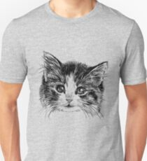 Cartoon purple cat T-Shirt