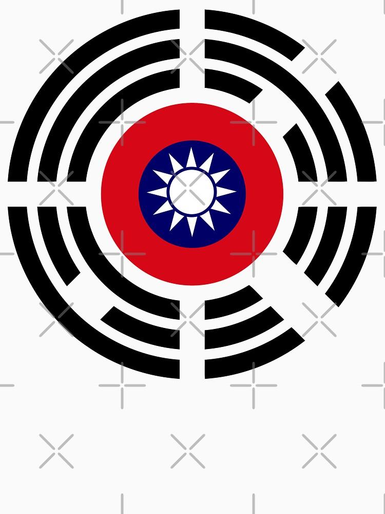 Korean Taiwanese Multinational Patriot Flag Series by carbonfibreme
