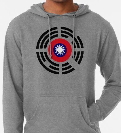 Korean Taiwanese Multinational Patriot Flag Series Lightweight Hoodie