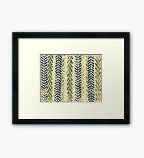Vine Pattern - Nature Framed Print