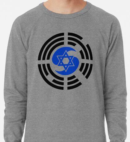 Korean Israeli Multinational Patriot Flag Series Lightweight Sweatshirt