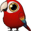 Cute Fat Macaw by Demmy