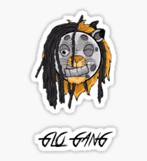Glo Gang - Chief Keef zombie lion Sticker