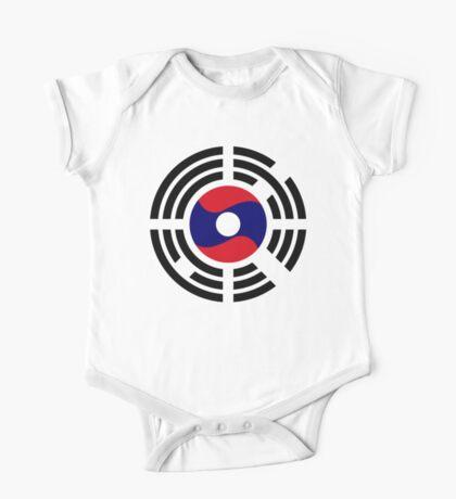 Korean Laotian Multinational Patriot Flag Series Kids Clothes