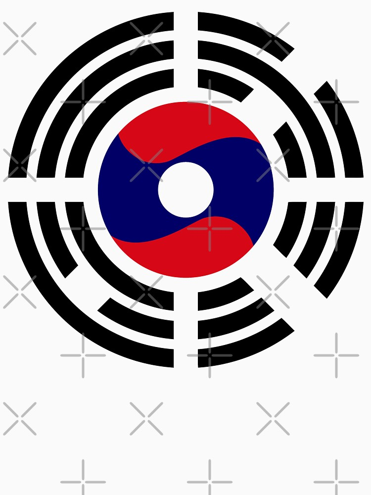 Korean Laotian Multinational Patriot Flag Series by carbonfibreme