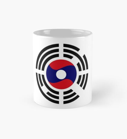 Korean Laotian Multinational Patriot Flag Series Mug