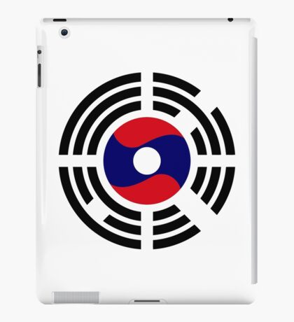 Korean Laotian Multinational Patriot Flag Series iPad Case/Skin