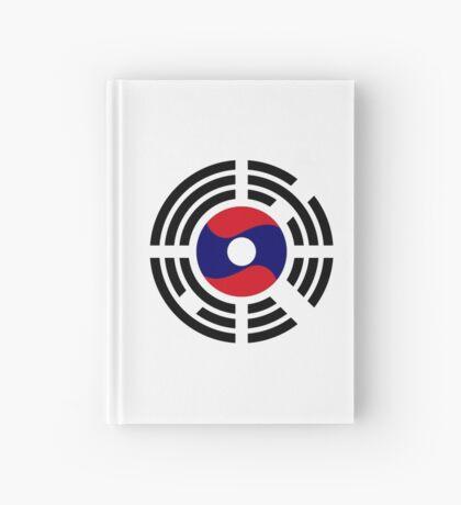 Korean Laotian Multinational Patriot Flag Series Hardcover Journal
