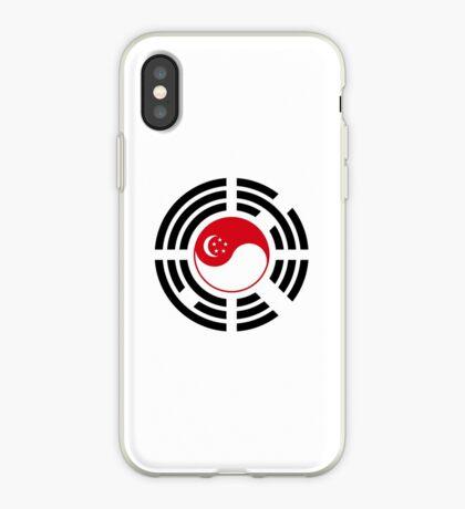 Korean Singapore Multinational Patriot Flag Series iPhone Case