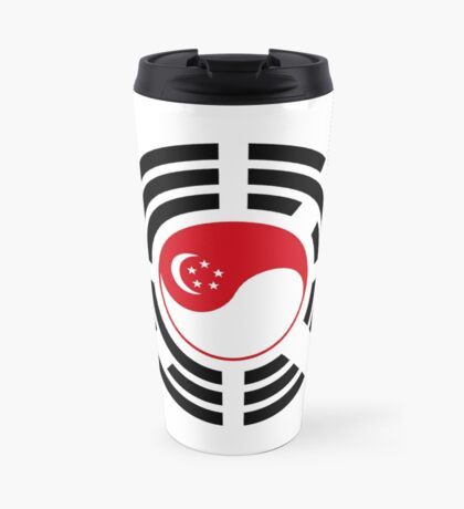 Korean Singapore Multinational Patriot Flag Series Travel Mug