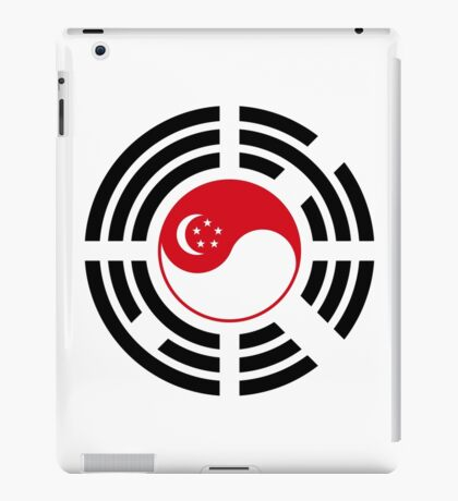 Korean Singapore Multinational Patriot Flag Series iPad Case/Skin