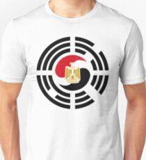 Korean Egyptian Multinational Patriot Flag Series Slim Fit T-Shirt