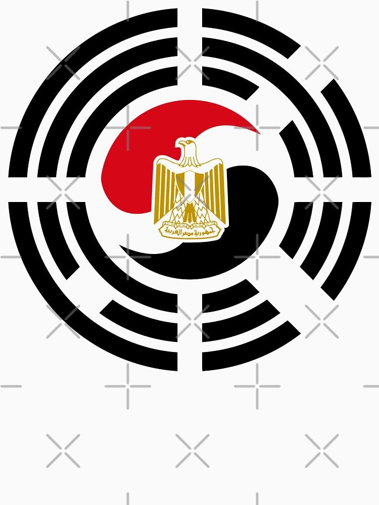 Korean Egyptian Multinational Patriot Flag Series by carbonfibreme
