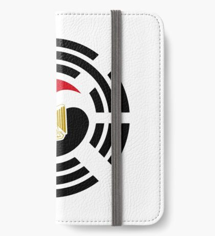 Korean Egyptian Multinational Patriot Flag Series iPhone Wallet