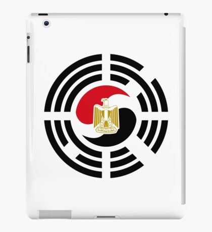 Korean Egyptian Multinational Patriot Flag Series iPad Case/Skin
