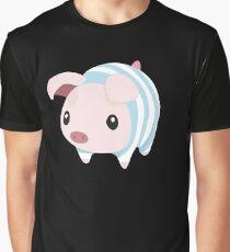 Poogie Piggie Monster Hunter Print Pj Pajama Graphic T-Shirt