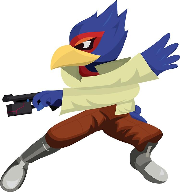 """Falco - Super Smash Brothers - 56.4KB"