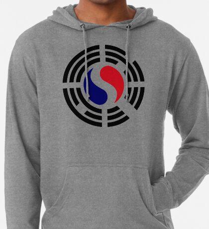 Korean French Multinational Patriot Flag Series Lightweight Hoodie