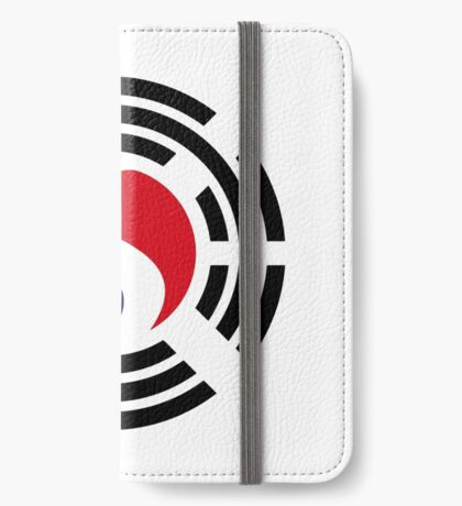 Korean French Multinational Patriot Flag Series iPhone Wallet