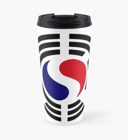 Korean French Multinational Patriot Flag Series Travel Mug