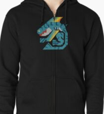 Zamtrios Monster Hunter Print Zipped Hoodie