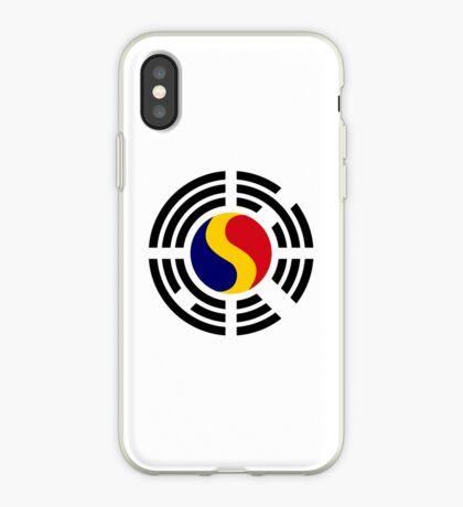 Korean Romanian Multinational Patriot Flag Series iPhone Case