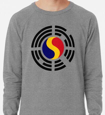 Korean Romanian Multinational Patriot Flag Series Lightweight Sweatshirt