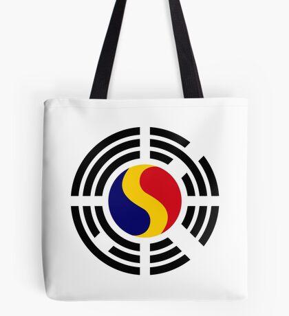 Korean Romanian Multinational Patriot Flag Series Tote Bag