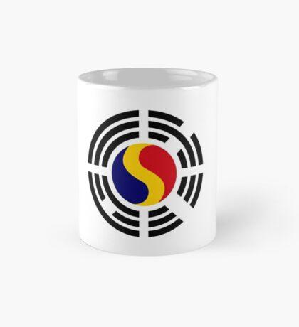 Korean Romanian Multinational Patriot Flag Series Mug