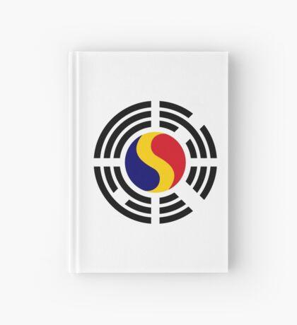 Korean Romanian Multinational Patriot Flag Series Hardcover Journal