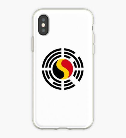 Korean Belgian Multinational Patriot Flag Series iPhone Case