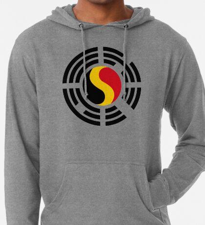 Korean Belgian Multinational Patriot Flag Series Lightweight Hoodie