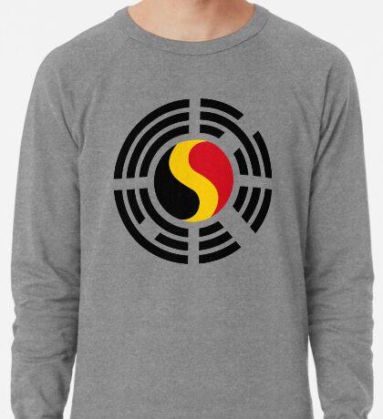 Korean Belgian Multinational Patriot Flag Series Lightweight Sweatshirt